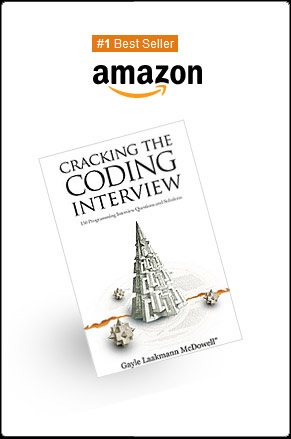 Cracking the coding interview by Gayle Laakman